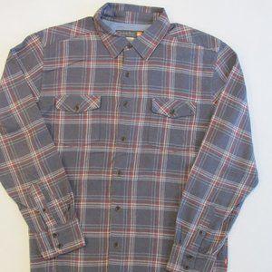 Quicksilver Men's Cotton Flannel Shirt Size Large